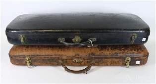 Two Antique Violin Cases