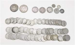 U. S. MIXED COINS