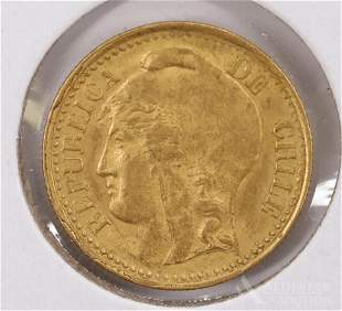 CHILE GOLD COIN
