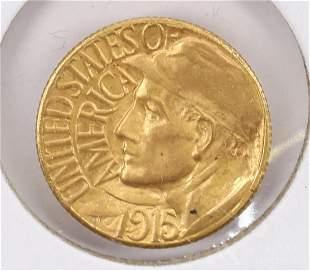 COMMEMORATIVE GOLD COIN