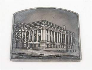 STERLING PLAQUE