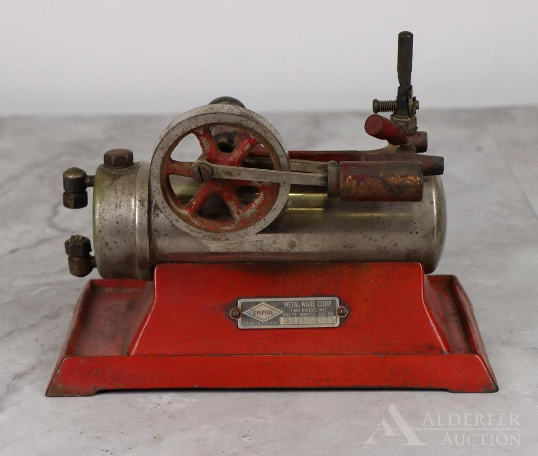 Empire Metal Ware Corporation Steam Engine Toy