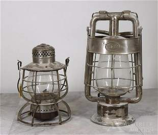 Railroad & Fire Department Lanterns