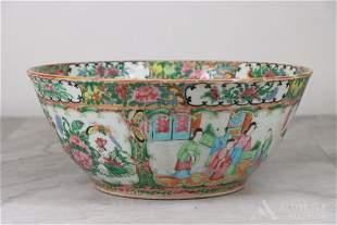 Rose Medallion Centerpiece Bowl