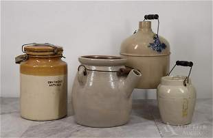 Stoneware Jugs & Crocks