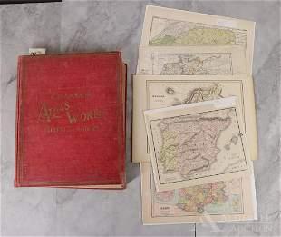Cram's Atlas, Other Maps
