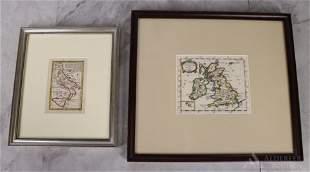 Gibson & Morden Maps, Italy & UK