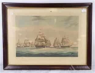 Edward Duncan (British 1803-1882) Engraving