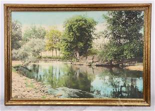 Wallace Nutting (American 1861-1941) Hand Colored