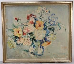 Hanny Vander Velde (Dutch/American 1883-1959) Oil on