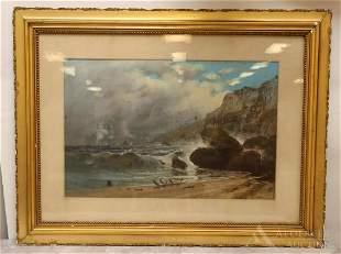 William Henry Chandler (American 1854-1928) Pastel