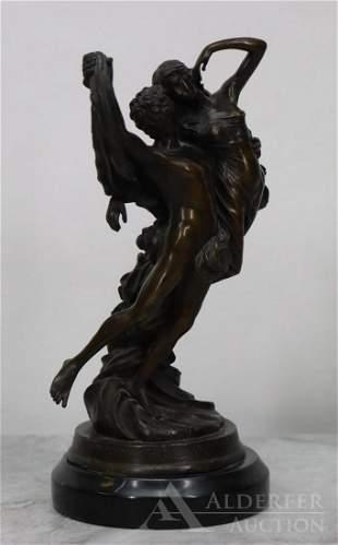 Eugene Marioton (French 1857-1933) Bronze Sculpture
