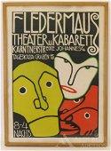 Bertold Loffler, Fledermaus Theater Print