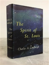 The Spirit of St. Louis, Signed 1st Edition