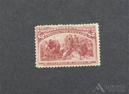 US Stamps #242
