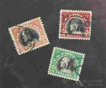 US Stamps #523, #524, #547