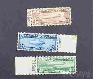 US Stamps C13 - C15