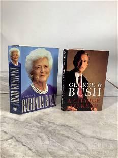 Barbara Bush: A Memoir & A Charge to Keep, Signed
