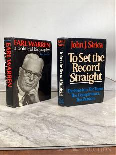 To Set the Record Straight & Earl Warren: A Political