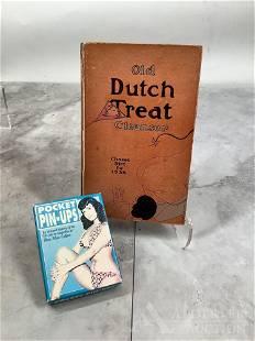 Dutch Treat Club Book, Signed Edition & Pocket Pin-Ups
