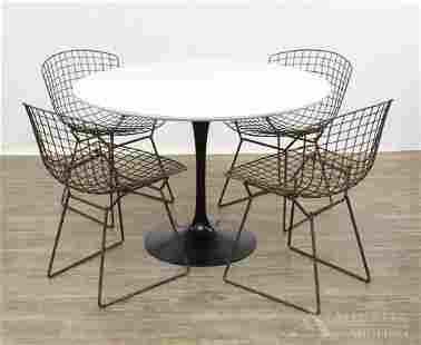 Knoll Mid-Century Modern Table and Chairs