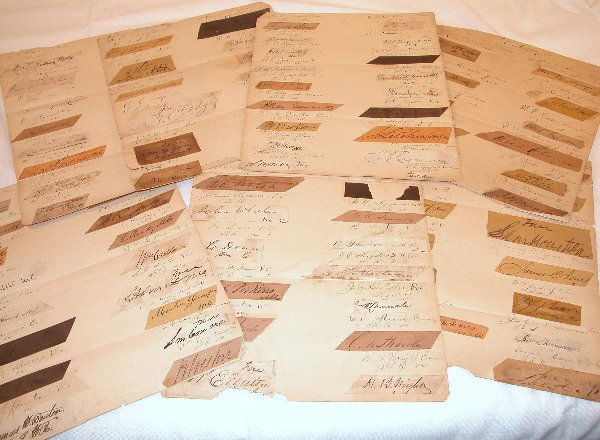 7: Grouping of Autographs from US Senate and Congress 1