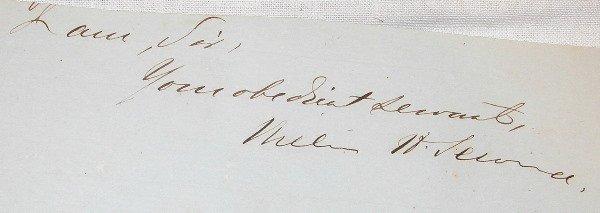 24: Autograph of William Seward.