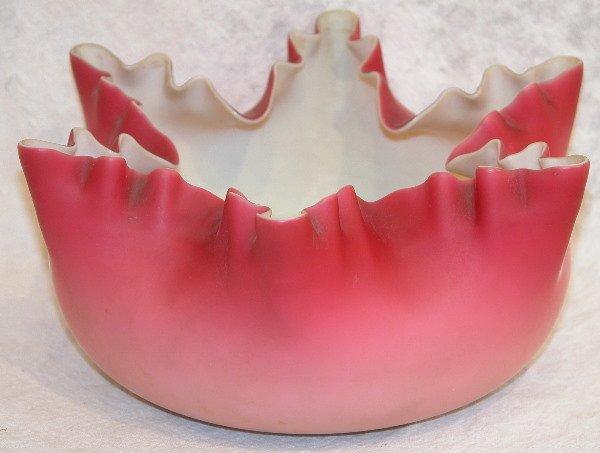 479: Cased Glass Bowl.