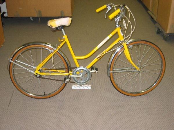 """1062: """"Yellow Submarine"""" Huffy Bike"""