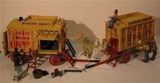 1044: Model Circus Wagon.