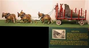 1063: Model Circus Wagon.