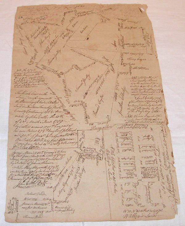 11: 18th Century Bucks County Land Documents.