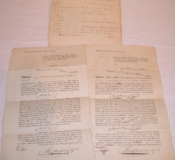 16: Muhlenberg-Related Documents.