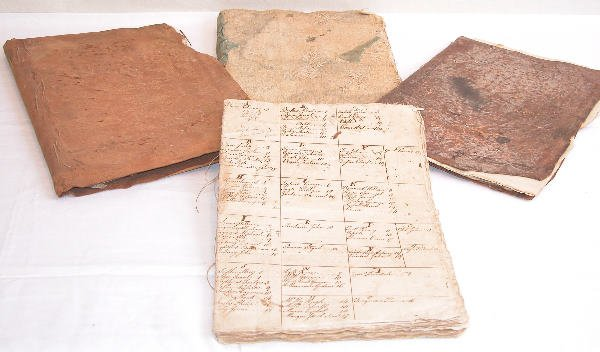 18: Manuscript Account Books of Lincoln Family of Berks