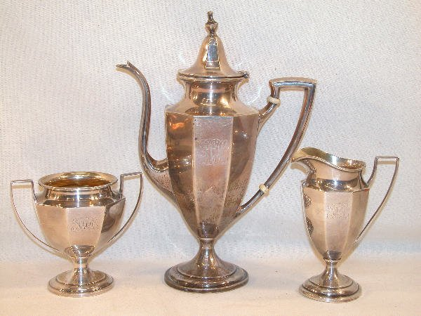 555: Sterling Silver Coffee Service – Bailey Banks and