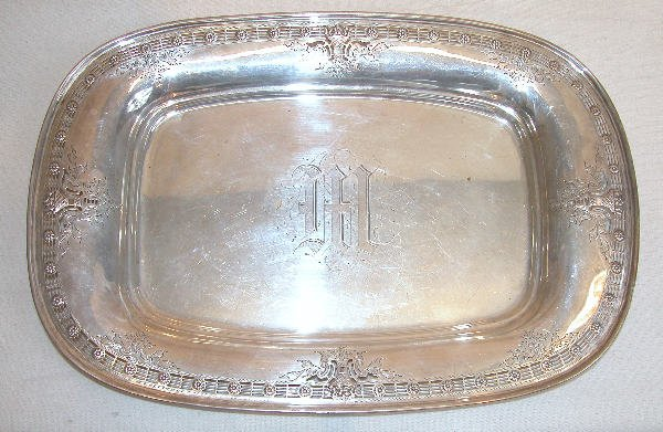 559: Sterling Silver Tray – Bailey, Banks & Biddle.