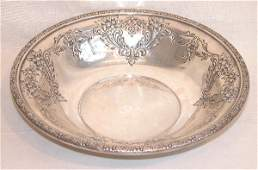 624 Sterling Silver Bowl  Whiting