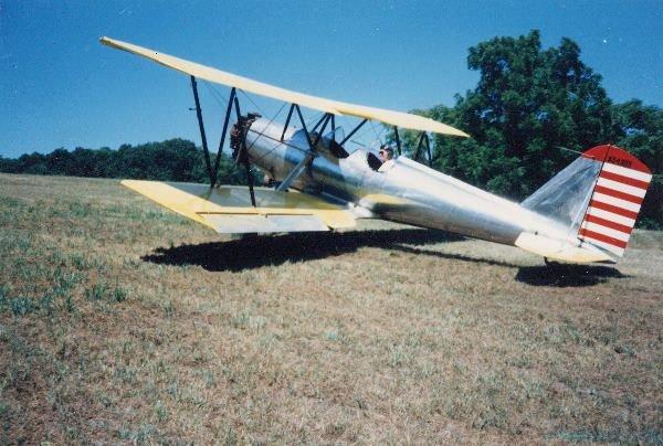 1: Vintage Airplane.