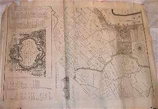 18th Century Reed Maps of Philadelphia.