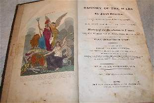 Early Illustrated Book on Napoleonic Wars