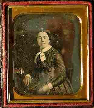 Daguerreotype by Rehn's Gallery.