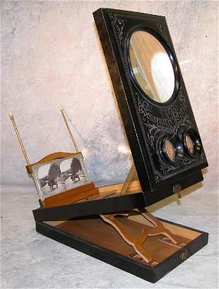 19th century Stereopticon.