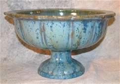 761: Fulper Art Pottery Footed Bowl.