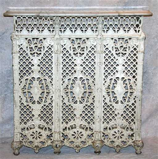 893 victorian cast iron radiator cover - Cast iron radiator covers ...