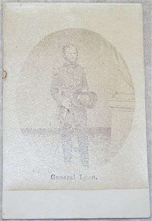 CDV of General Nathaniel Lyon.
