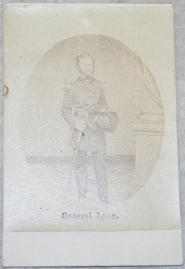6: CDV of General Nathaniel Lyon.