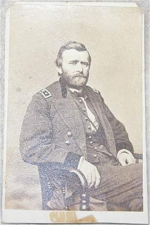 CDV of General U.S. Grant.