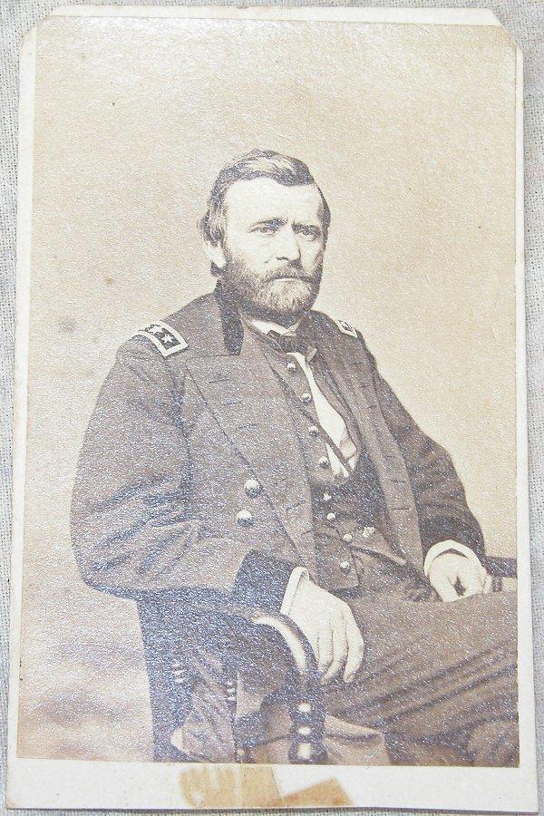 7: CDV of General U.S. Grant.