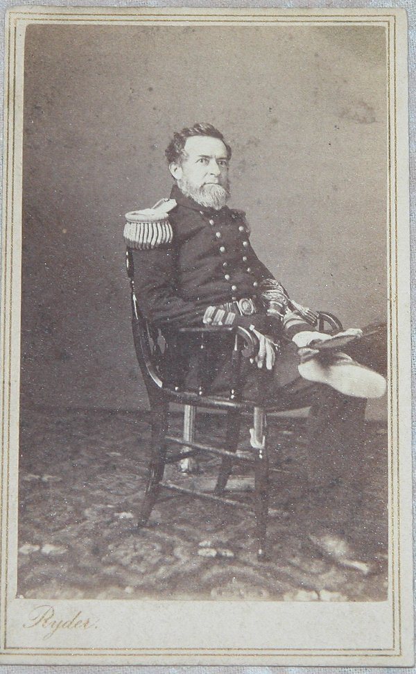 9: CDV of Admiral Andrew Hull Foote.