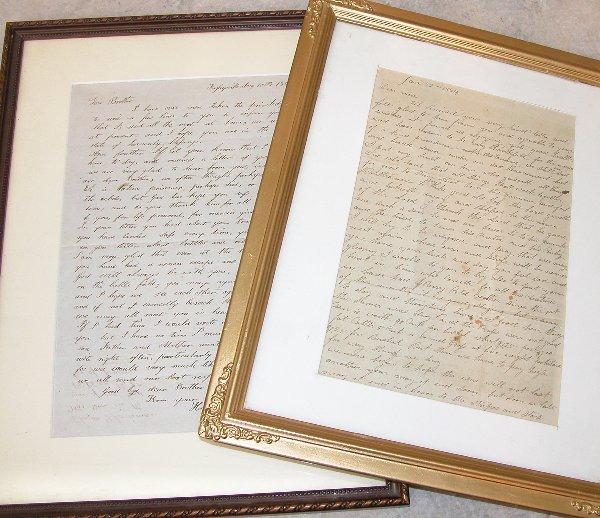 16: Pair of Civilian Civil War Period Letters